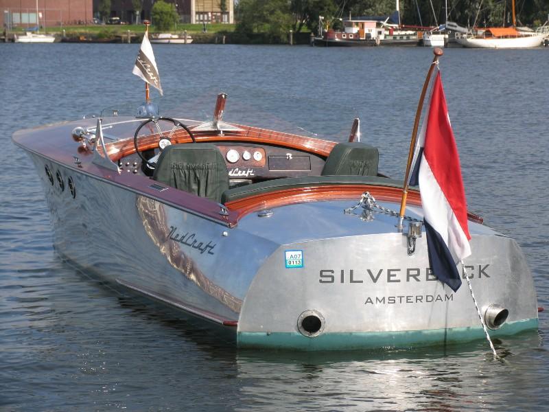 Speedboat Classic Aluminum Runabout